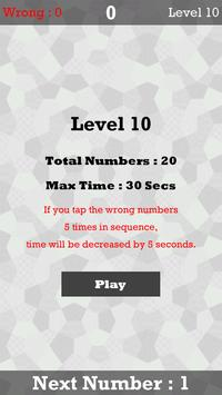 Tap Number Mania apk screenshot
