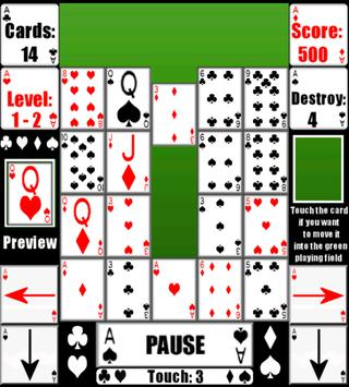 Waterfall Cards apk screenshot