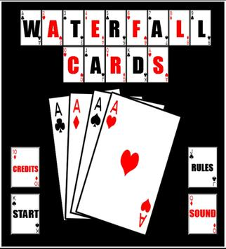 Waterfall Cards poster