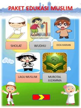 Edukasi Anak Muslim apk screenshot