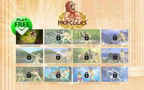 HERCULES-LION OF NEMEA /puzzle apk screenshot