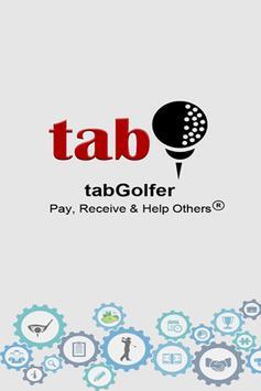 tabGolfer poster