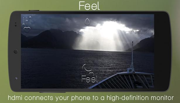 Feel - Ship poster