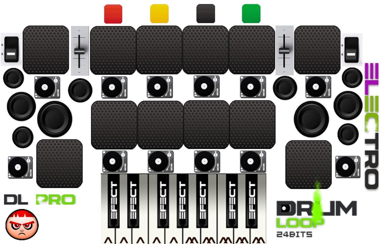 drum loop beat maker full pads apk baixar gr tis m sica e udio aplicativo para android. Black Bedroom Furniture Sets. Home Design Ideas
