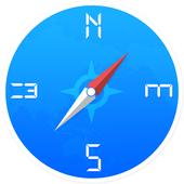 Smart Compass Digital icon