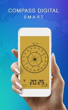 Smart Compass Digital poster