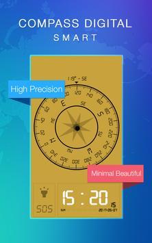 Smart Compass Digital apk screenshot