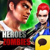 히어로즈 vs 좀비 for Kakao icon