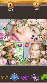 Flower Photo Collage Editor apk screenshot