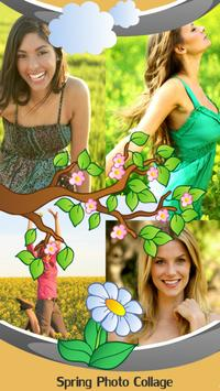 Spring Photo Collage poster