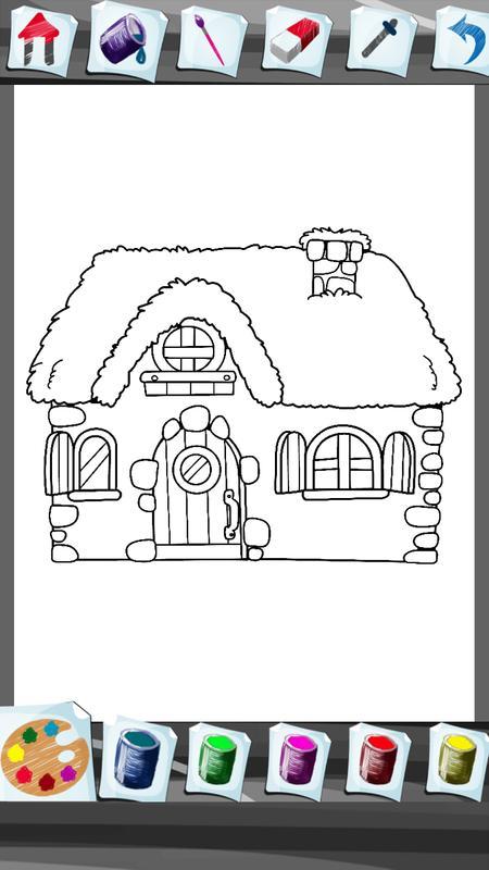 Rumah Manis Buku Mewarnai For Android Apk Download