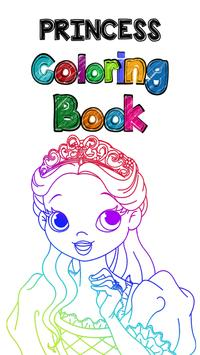 Princess Coloring Book Poster Apk