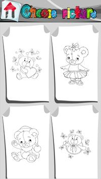 Teddy Bears Coloring Book APK Download - Free Entertainment APP for ...
