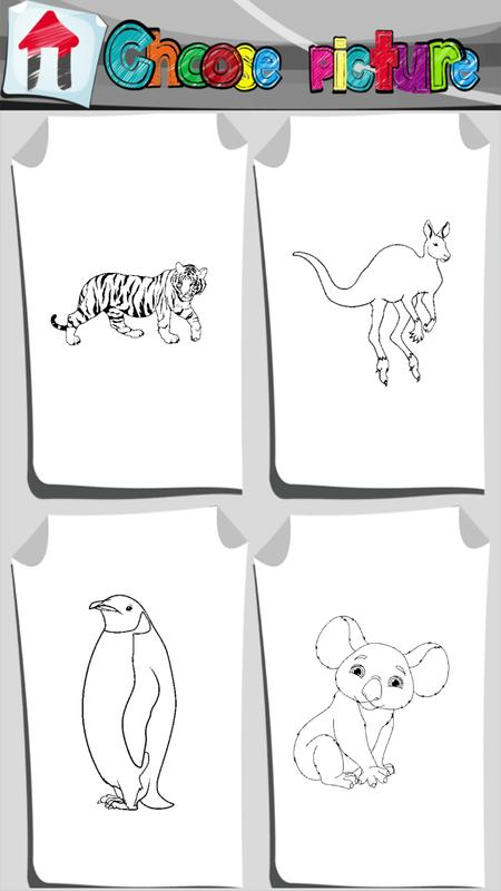 Animali Dello Zo Coloring Book For Android Apk Download