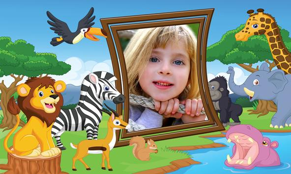 Jungle Kids Photo Frames apk screenshot