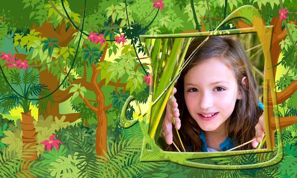 Jungle Kids Photo Frames poster