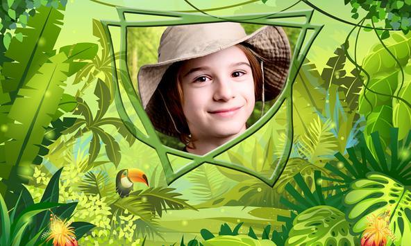 Jungle Kids Photo Frames screenshot 2