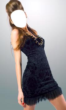 Woman Short Dress Photo Camera screenshot 3