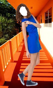 Woman Short Dress Photo Camera screenshot 2