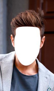 Hairstyle Changer For Men apk screenshot