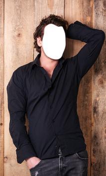 Men Fashion Photo Montage poster