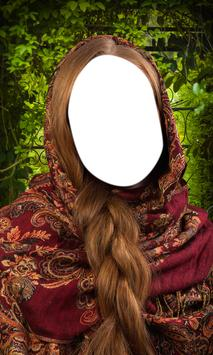 Shawl Woman Photo Editor apk screenshot