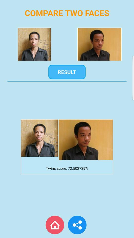 Compare two faces for Android - APK Download