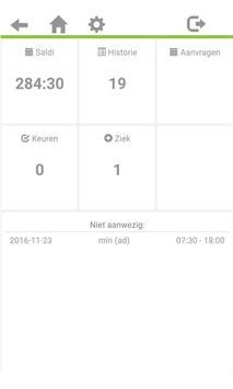 Vrijedagen Verlofregistratie screenshot 1