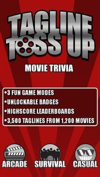 Tagline Toss Up: Movie Trivia poster