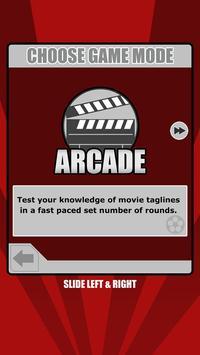 Tagline Toss Up: Movie Trivia screenshot 1