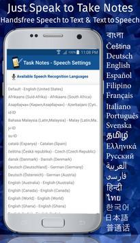 TASK NOTES - Notepad, List, Reminder, Voice Typing screenshot 5