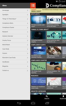 Compliance Insider ® screenshot 4