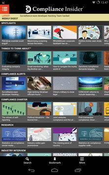 Compliance Insider ® screenshot 3