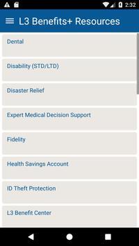 L3 Benefits screenshot 3