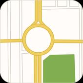 Yangon Map icon