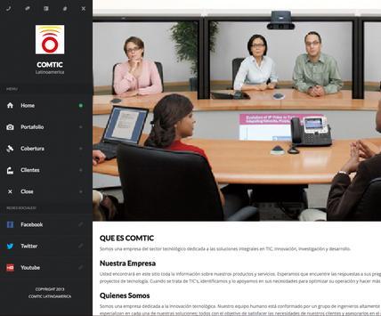 Presentación Comtic screenshot 4
