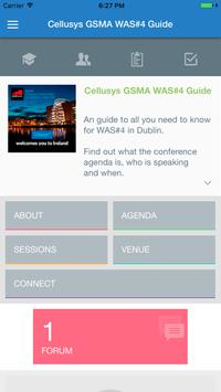 Cellusys GSMA WAS#4 Guide poster