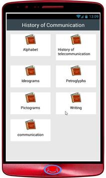 History of Communication poster
