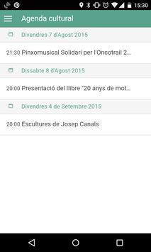Agenda de la Bisbal screenshot 1