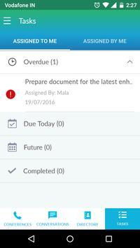 NowConfer Enterprise apk screenshot