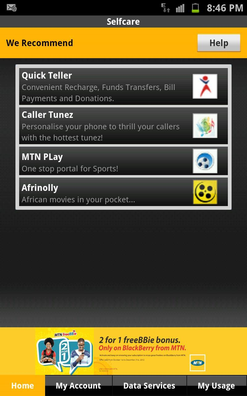 MTN Nigeria Selfcare App for Android - APK Download