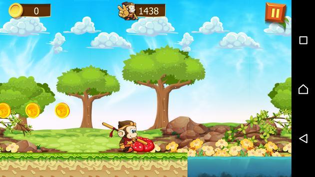 Crazy Monkey - Run Away screenshot 2