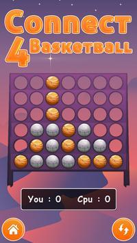Connect Four Basketball screenshot 1