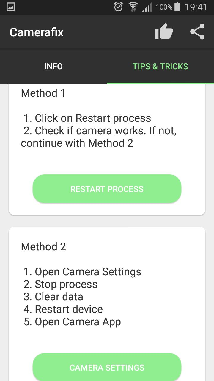 Fix for can't connect to the camera error for Android - APK Download