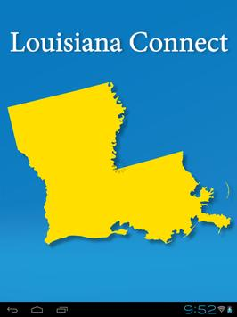 Louisiana Connect poster