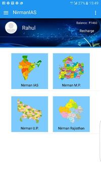 Nirman IAS apk screenshot