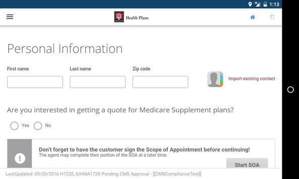 IU Health Plans Broker App apk screenshot