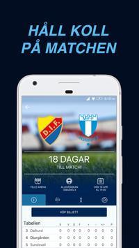 DIF Fotboll Live poster
