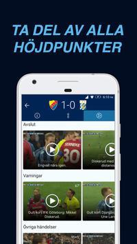 DIF Fotboll Live capture d'écran 1