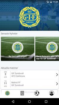 GIF Sundsvall Live poster